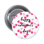 Cherry Sweet-Hearts Pinback Button