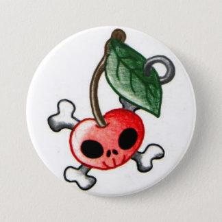 Cherry Tattoo 7.5 Cm Round Badge