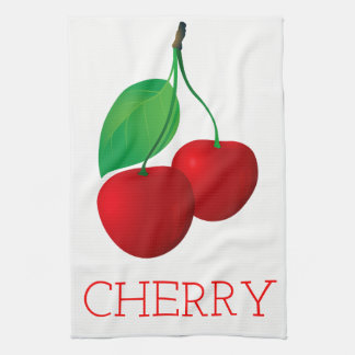 Cherry Tea Towel