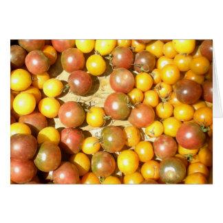 Cherry Tomato Blank Card