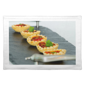 Cherry Tomato Tartlets placemats