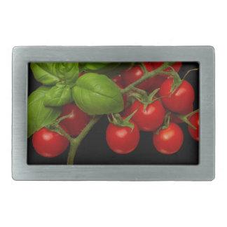 Cherry Tomatoes Basil Belt Buckles