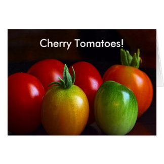 Cherry Tomatoes Card
