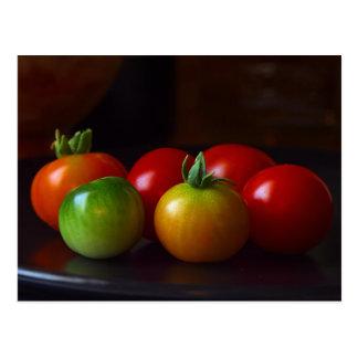 cherry-tomatos postcard