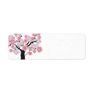 Cherry tree Avery Label