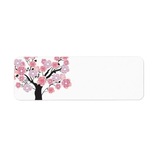 Cherry tree Avery Label Return Address Label