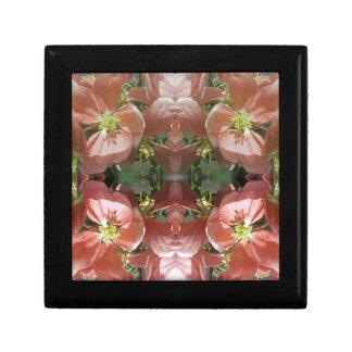 Cherry tree blossom pattern gift box