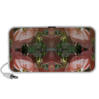 Cherry tree blossom pattern iPhone speakers