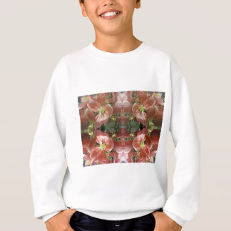 Cherry tree blossom pattern sweatshirt