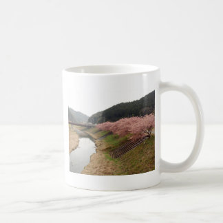 Cherry tree blossoms in Japan Coffee Mugs