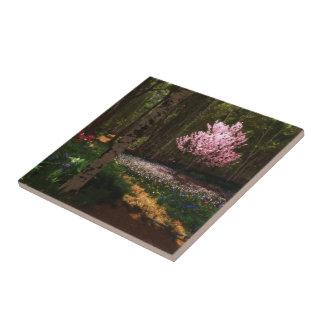 Cherry Tree Concerto Decorative Tile