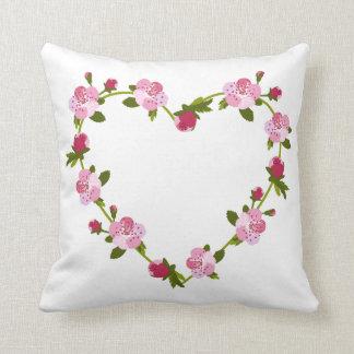 Cherry Tree Flowers Cushion