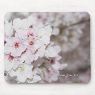 Cherry tree full bloom mouse mat