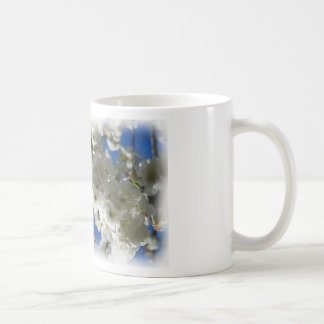 Cherry tree in blossom painting - mug