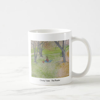 Cherry Trees - The Reader Coffee Mug