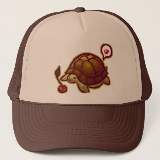Cherry Turtle Trucker Hat