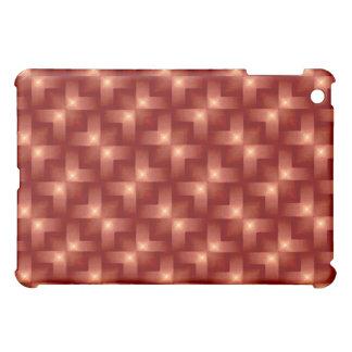Cherry Wine Weave iPad Mini Cases