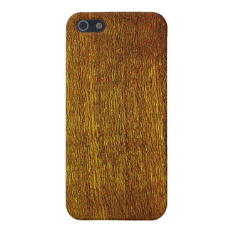 Cherry Wood Grain Case For The iPhone 5