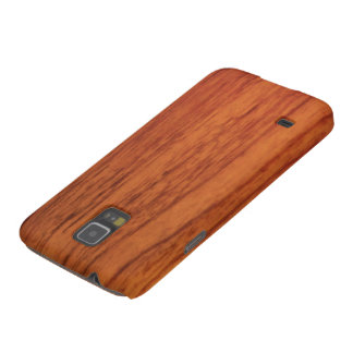 Cherry Wood Print Galaxy S5 Covers