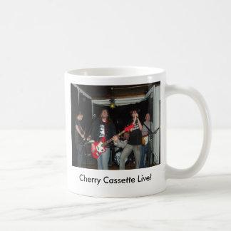 cherrycassette, Cherry Cassette Live! Basic White Mug