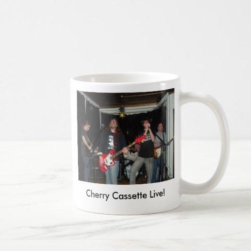 cherrycassette, Cherry Cassette Live! Mugs