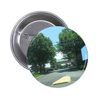 CherryHILL NewJersey USA Green Theme HAPPY WALK 6 Cm Round Badge
