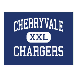 Cherryvale - Chargers - Middle - Cherryvale Kansas Postcard