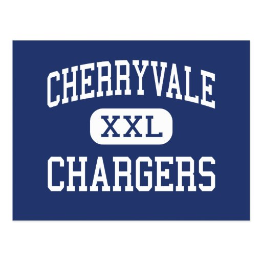 Cherryvale - Chargers - Middle - Cherryvale Kansas Post Card