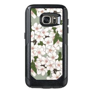 Cherrywood Floral pattern OtterBox Samsung Galaxy S7 Case