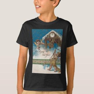 Cherub Angel Clock Midnight Daisy Stars T Shirts