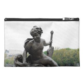 Cherub Angel Statue in Paris Travel Accessories Bags