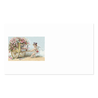 Cherub Cupid Mail Rose Candy Cart Pack Of Standard Business Cards