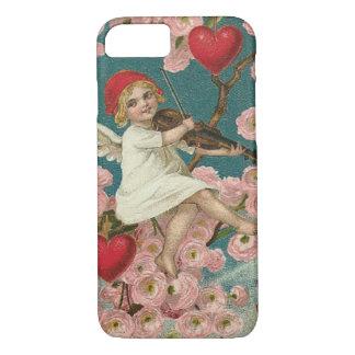 Cherub Cupid Rose Heart Violin Tree Bird iPhone 7 Case