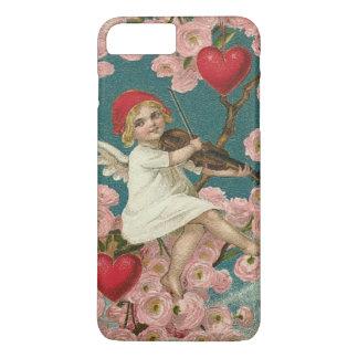 Cherub Cupid Rose Heart Violin Tree Bird iPhone 7 Plus Case