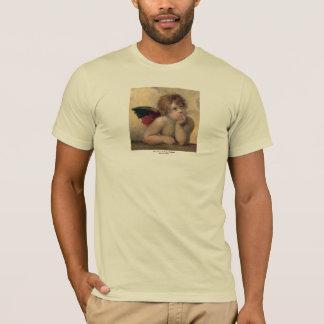 Cherub from Sistine Madonna by Raphael T-Shirt