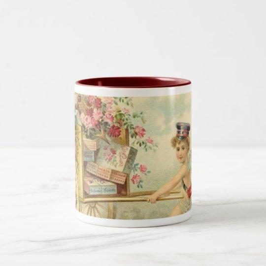 Cherub Messenger Two-Tone Coffee Mug