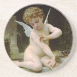 Cherub with A Butterfly Coasters