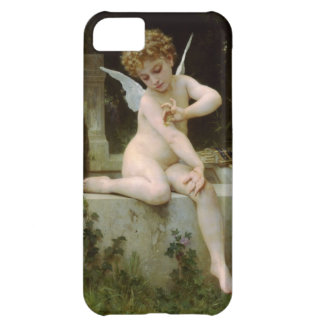 Cherub with A Butterfly iPhone 5C Case