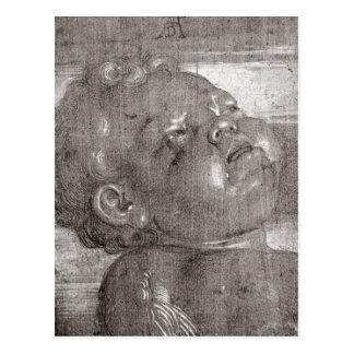 Cherubim Crying, 1521 Postcard