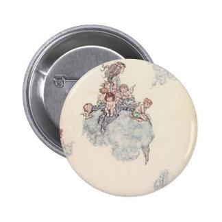 Cherubs and Angel Fairies Andersen's Fairy Tales 6 Cm Round Badge
