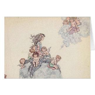 Cherubs and Angel Fairies Andersen's Fairy Tales Card