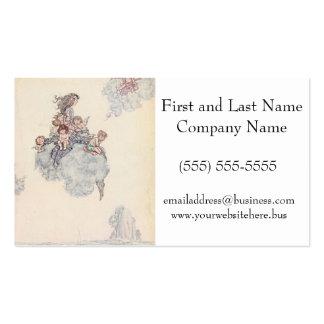Cherubs and Angel Fairies Andersen's Fairy Tales Pack Of Standard Business Cards