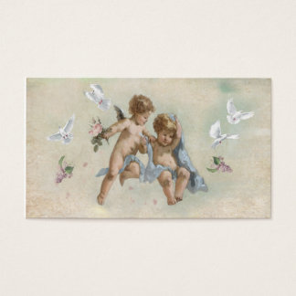 Cherubs and Doves Business Card