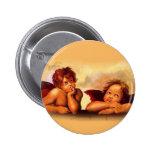 Cherubs, Angels, After Raphael: Original Artwork Pins