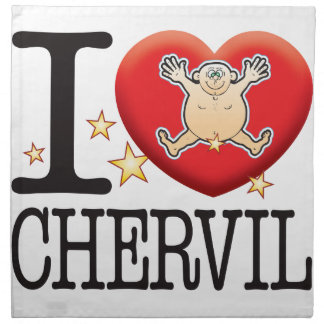 Chervil Love Man Napkin