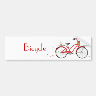 Chery Cherry Bicycle Bumper Sticker