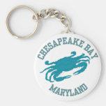 Chesapeake Bay  Blue Crab Key Chains