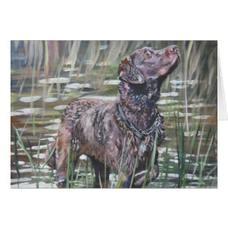 Chesapeake Bay retriever blank card