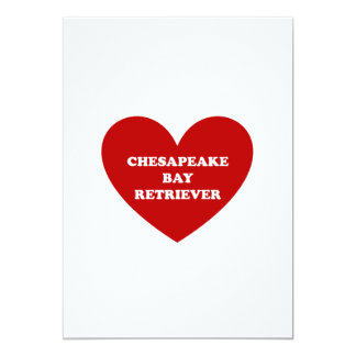 Chesapeake Bay Retriever Card