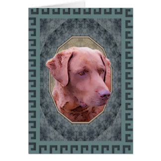 Chesapeake Bay Retriever Classic Card